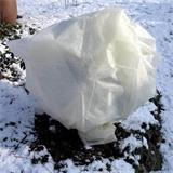 Die Frühbeetfolie ist winterfest, hält Wind, Kälte, Eis und Schnee problemlos aus.