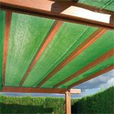 Das Schattiergewebe kann perfekt als Sonnenschutz verwendet werden