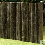 Egal ob am Balkon oder als Zaun im Garten - toller Bambussichtschutz
