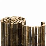 Mit 24 mm Durchmesser sehr starke, dunkle Bambusmatte