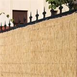 Helle Bambusmatte Bombay für Balkon Sichtschutz