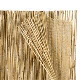 Das feine Schattiergewebe macht diese Bambusmatte noch besser