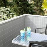 Verschöneren Sie Ihren Balkon mit Kunststoffabtrennung
