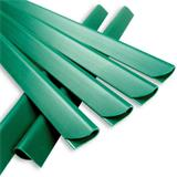 Die Klemmschienen aus Kunststoff in grün, schwarz, grau, durchsichtig für Sichtschutzzäune