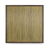 2.Wahl Bambuszaun Bali mit Holzrahmen Bambus Zaun