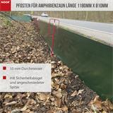 Pfosten für Amphibienzaun Länge 1180mm Ø10mm