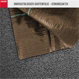 Unkrautblocker Sandkasten Vlies braun 0,9x10m