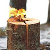 Schwedenfeuer sind eine tolle Sache für Silvester oder im Garten.