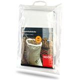 Gewebesäcke aus weißem PP Kunststoffgewebe Plastiksack Baustelle