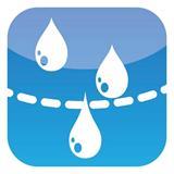 Wasser kann problemlos die Folie durchdringen