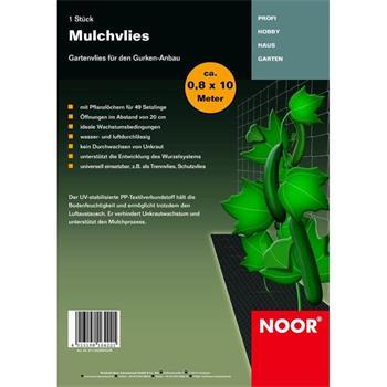 Mulchvlies für Gurkenanbau 0,8x10 m Vlies Gurken