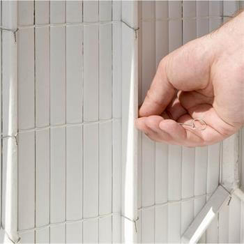 Bindedrähte für Sichtschutz und Säcke