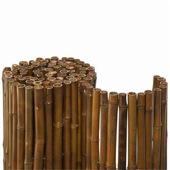 Bambusmatte Mahagoni Braun