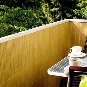 2.Wahl Sichtschutzmatte PVC 1,5x5m bambus -50%
