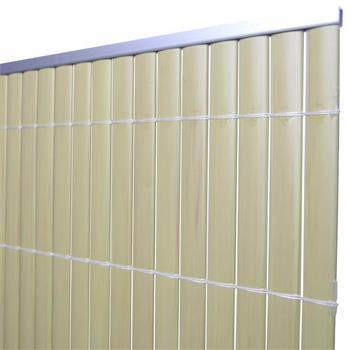 Aluminium Abdeckprofil für PVC Sichtschutz 2m