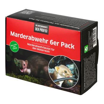 Marderabwehr aus Tierhaaren 6er Pack