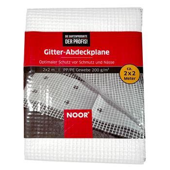 Gitter Abdeckplane 200 g/m² Gitterfolie UV stabil