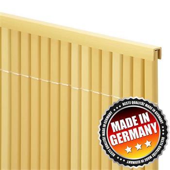 Abdeckprofil für Balkonblende Premium 1,5 m