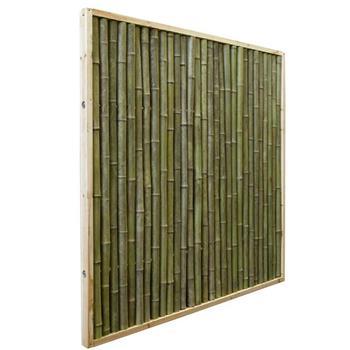 Bambuszaun 180x180cm Sichtschutz Zaun Bambus Bahia