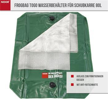 Frogbag ToGo Wasserbehälter für Schubkarre 80l