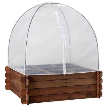 Frühbeethaube & Vogelschutznetz für Hochbeet XL