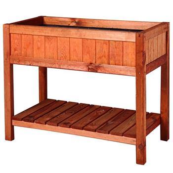 Hochbeet Provence 76x80x40cm Frühbeet Tisch Holz