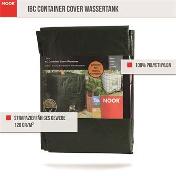 IBC Container Cover Wassertank Abdeckung grün