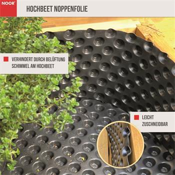 Hochbeet Noppenfolie 1x5m 400 g/m²