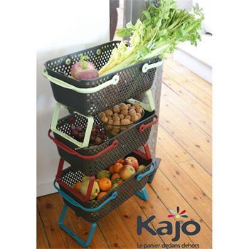 Gartenkorb Kajo stapelbar & luftdurchlässig