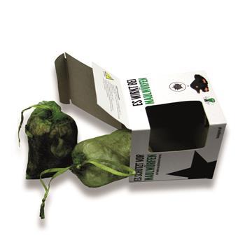 Maulwurfabwehr aus Tierhaaren 2er Pack