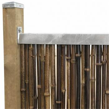 Montage Profil für Sichtschutzmatten 1,80m 2er Set