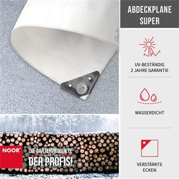 Abdeckplane Super 200g/m² Gewebeplane