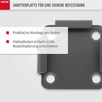 Bodenhalterung Adapter für Seitenmarkise Exklusiv