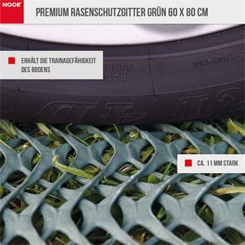 Premium Rasenschutzgitter grün 60 x 80 cm