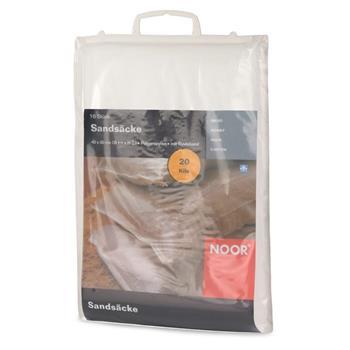Sandsäcke PP 40x60 cm 10 Stück 75g/m² mit Kopfsaum