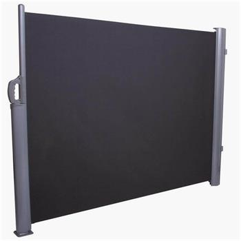 Seitenmarkise 160x300 cm lang anthrazit Windschutz