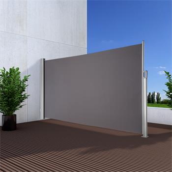 Seitenmarkise Exklusiv 100x350 cm anthrazit