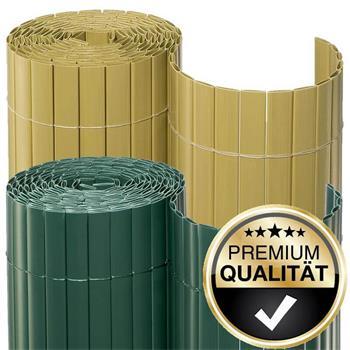 2.Wahl Sichtschutzmatte PVC Rollenlänge 10m