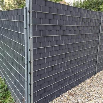 Sichtschutzstreifen PVC 9,5 cm  x 2,55 m 2 Stück