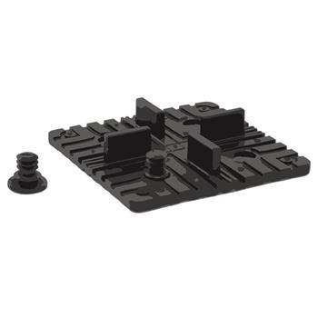 Montage Set - Square Clip 5 Stück