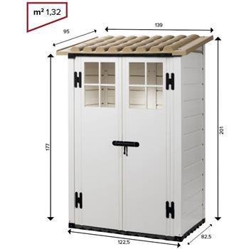 Gerätehaus TUSCANY EVO 100.2P V50.05.004