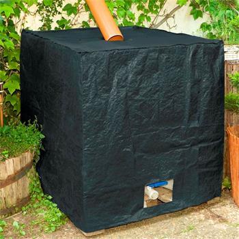 IBC Container Cover Wassertank Abdeckung anthrazit