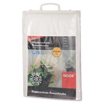 Winterschutz Rosenhaube 2er Pack 75x80cm weiß
