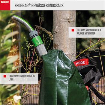 Frogbag Bewässerungssack 75l grün PE 200 g/m²