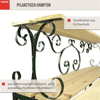Pflanztisch Gärtnertisch Hampton 93x58x100cm