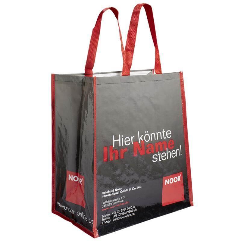 Diese Longlifetaschen sind mit Kordel oder Trageschlaufe zu erhalten