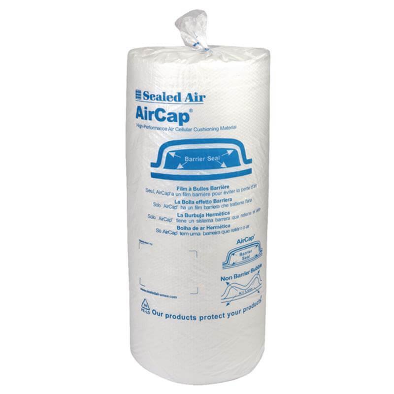 Luftpolsterfolie Aircap DS 200cm x 50m Ø 32mm