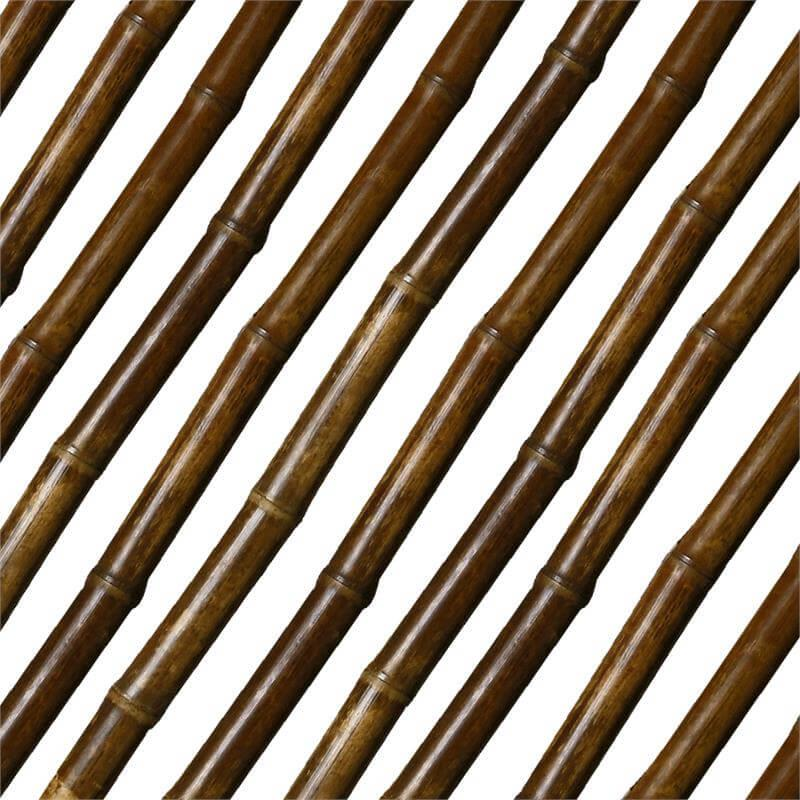 Elegantes Bambusrohr in Teakoptik durch einen besonderen Behandlungsprozess.