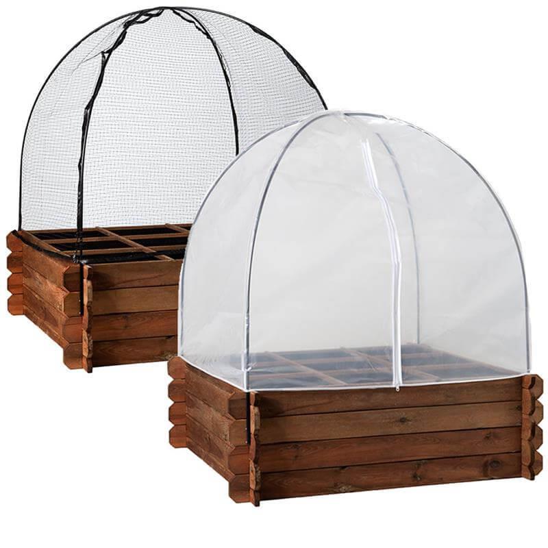 Frühbeethaube für Hochbeet XL
