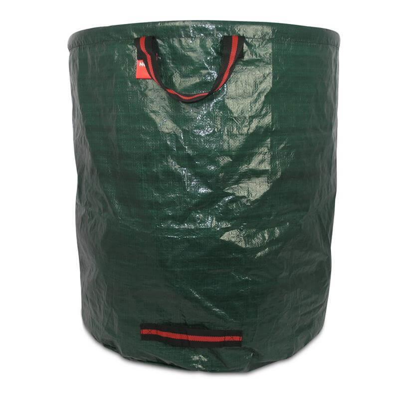 Großer grüner Laubsack Gartensack mit Tragegriffen 270 Liter Fassungsvermögen